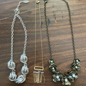 New Plunder Bundle of 3 Necklaces